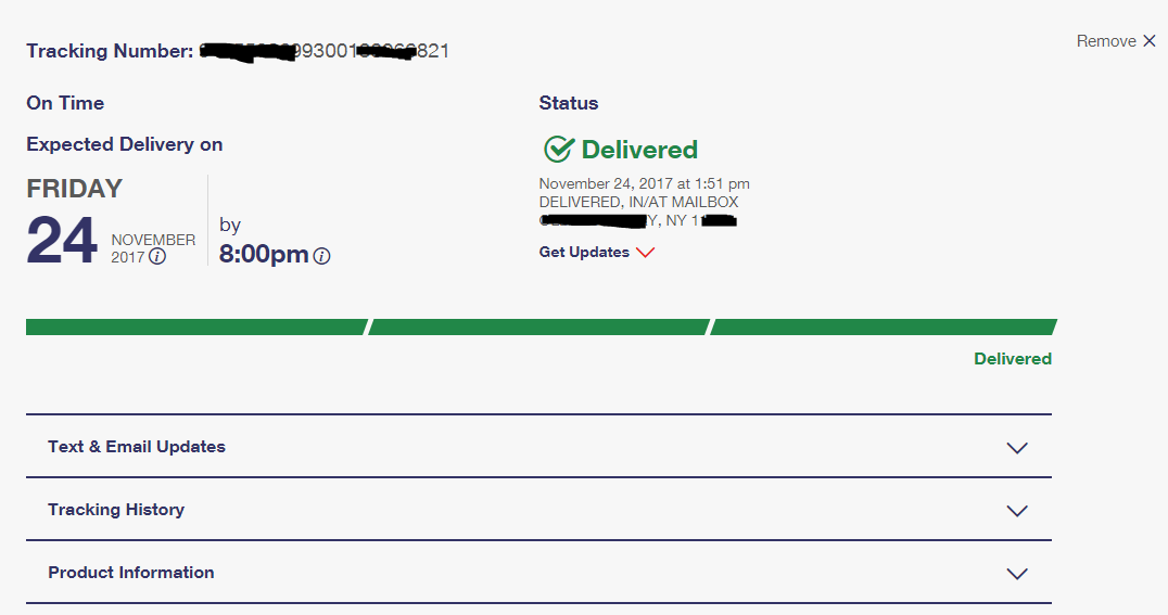 Delivery Proof For Recently Shipped Adderall Orders